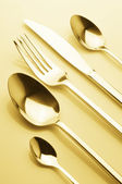 Set of silverware — Stock Photo