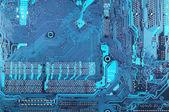 Gros plan de circuit imprimé — Photo
