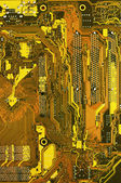 Circuit board close-up — Stock Photo