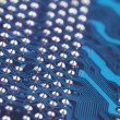 Circuit board close-up - Stockfoto