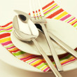 Stock Photo: Set of tableware