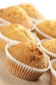 Cupcakes close-up — 图库照片