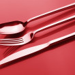 Set of silverware — Stock Photo #8799462