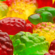 Colorful candy close-up - Stockfoto