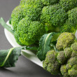 Broccoli on plate — Stock Photo #9271514
