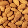 Постер, плакат: Almonds close up
