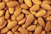 Almonds close-up — Stock Photo