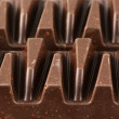 Dark chocolate close-up - Stock Photo