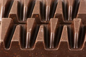Dark chocolate close-up — Stock Photo