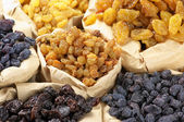 Assorted raisins — Stock Photo