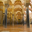 Interior of Mosque,  Cordoba,Andalusia,  Spain — Stock Photo