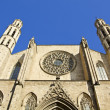 Barcelona - gothic cathedral Santa Maria del mar — Stock Photo
