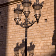 Modernist lamppost — Stock Photo