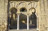 Entrée du bâtiment basilique supérieure. — Photo