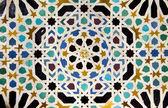Mosaic of courtyard of Machuca — Stock Photo