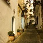 Dawn. Cadaques, Costa Brava, Catalonia, Spain — Stock Photo #8082495