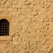 Stock Photo: Old wall with window