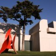 Joan Miro Foundation Museum - Stock Photo
