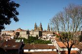 Cityscape of Santiago De Compostela. — Stock Photo