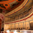 Stock Photo: Inside nineteenth century theater