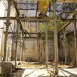 Abandoned house and destroyed in Old Havana. - Stock Photo