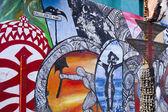 Graffiti Alley Hamel — Stock Photo
