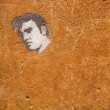 Graffiti of Elvis. — Stock Photo
