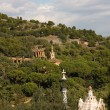 Stock Photo: Panoramic of Park Guell by Gaud', Barcelona
