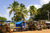 Caribbean Market. — Stock Photo