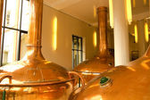 Former brewery — Stock Photo
