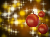 Christmas spheres 2 — Stock Photo
