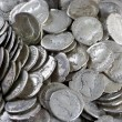 Antique coins - Stock Photo