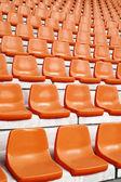 Sitze im stadion — Stockfoto