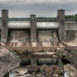 Old energy dam - Stock Photo