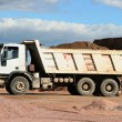 Working lorry - Stock Photo