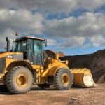 The heavy building bulldozer — Stock Photo #10231134