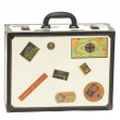 Stock Photo: Travel case isolated on white