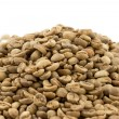 Unroasted coffee pile — Stock Photo #10231547