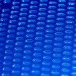 Abstract blue grid background — Stock Photo