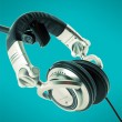 DJ headphones - Stock Photo