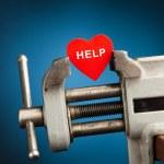 Heart healing concept — Stock Photo