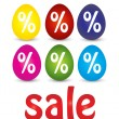 Easter sale — Stock fotografie
