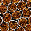 Cigarettes background — Stock Photo