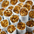 Cigarettes background - Stock Photo