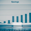 Stock Photo: Savings activity