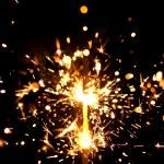Burning sparkler — Stock Photo #10233253