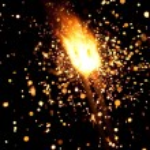 Burning sparkler — Stock Photo #10233339