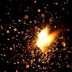 Burning sparkler — Stock Photo #10233383