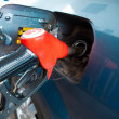 Gas fuelling — Stock Photo