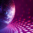 Disco background — Stock Photo